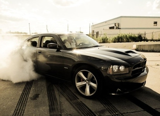 Sexy Black Car